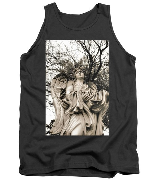 Angel In The Fall Tank Top
