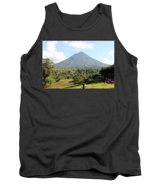 Arenal Volcano Tank Top
