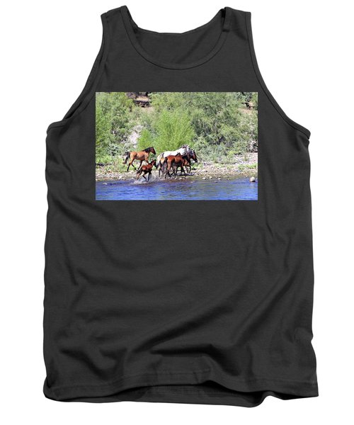 Arizona Wild Horses Tank Top