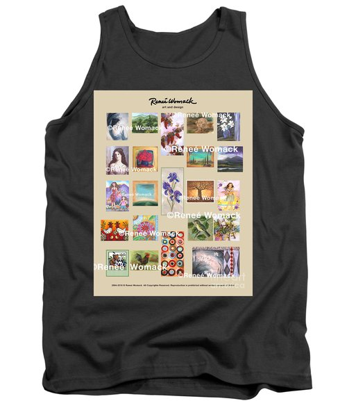 Art Collection Tank Top by Renee Womack