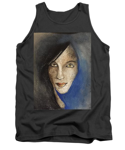 Tank Top featuring the mixed media Ash  by Steve  Hester