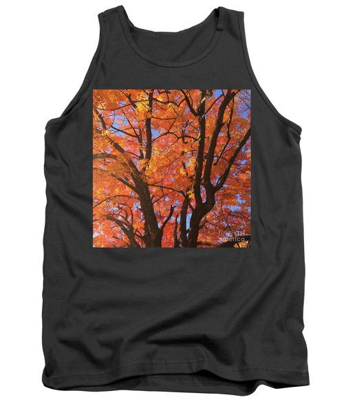 Autumn Orange Tank Top