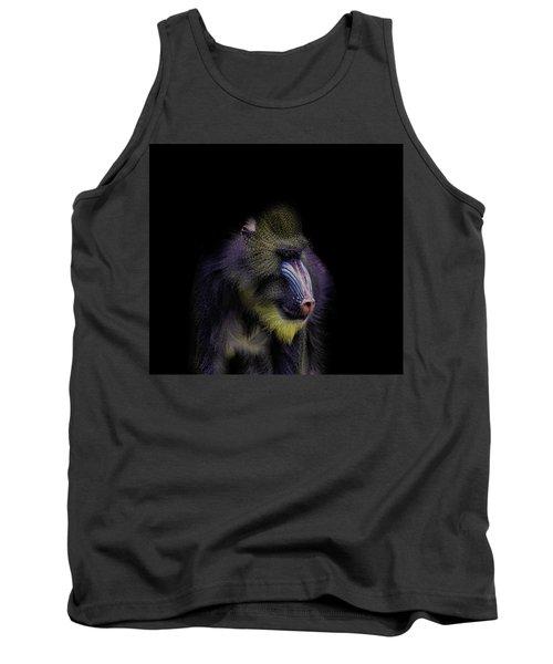 Baboon Portrait Tank Top