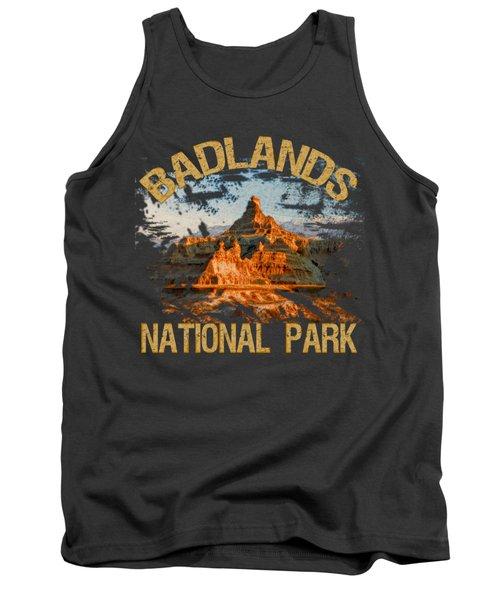 Badlands National Park Tank Top by David G Paul