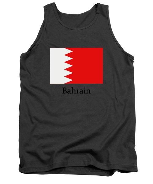 Bahrain Flag Tank Top