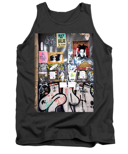 Barcelona Street Art Tank Top