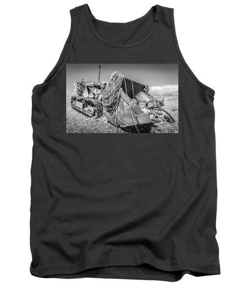 Beach Bulldozer. Tank Top