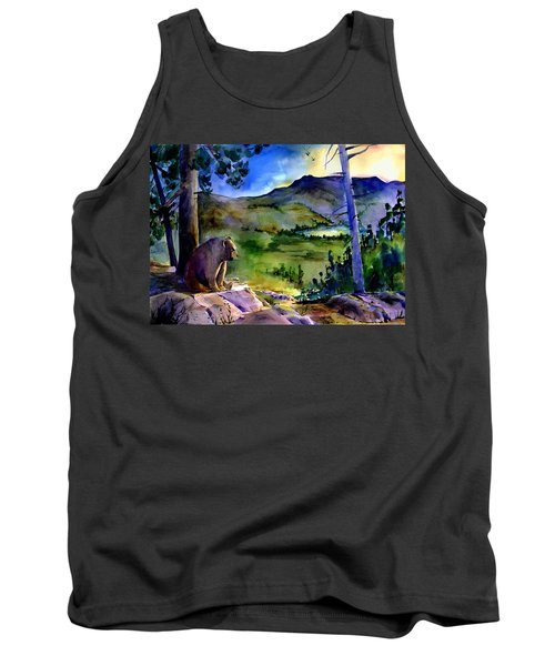 Bearly Light At Castle Peak Tank Top
