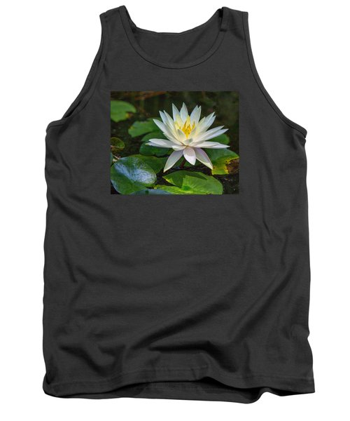 Tank Top featuring the photograph Beautiful Lotus by Susi Stroud