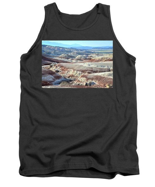 Bentonite Clay Dunes In Cathedral Valley Tank Top by Ray Mathis