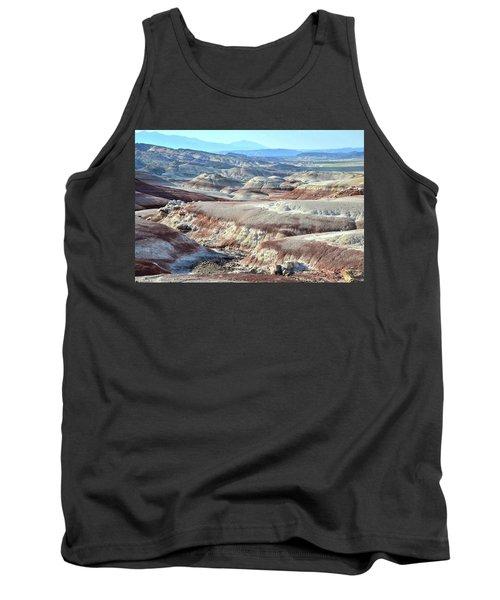 Bentonite Clay Dunes In Cathedral Valley Tank Top