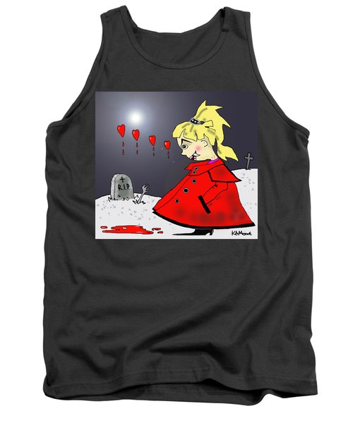Bite-size In The Graveyard Tank Top