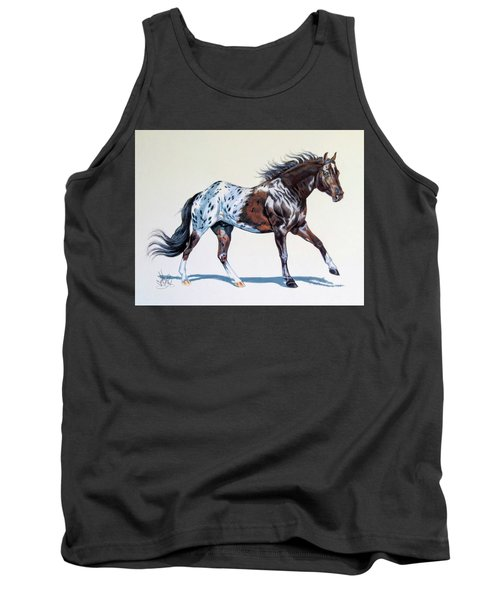 Blanketed Appaloosa Tank Top by Cheryl Poland