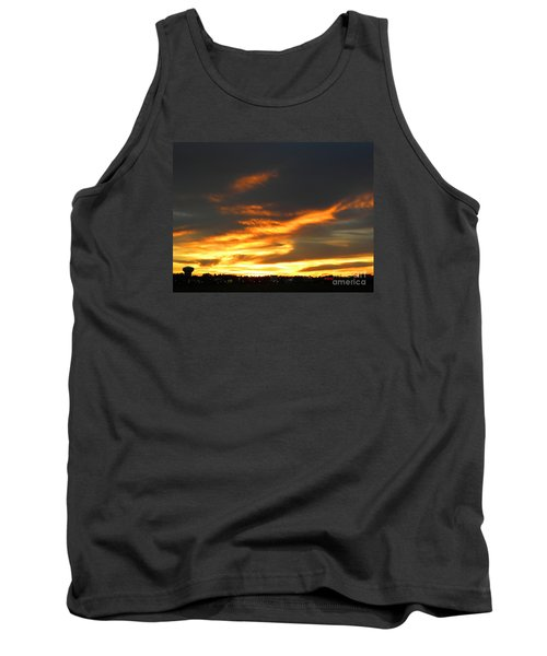 Blazing Carolina Sunset Tank Top