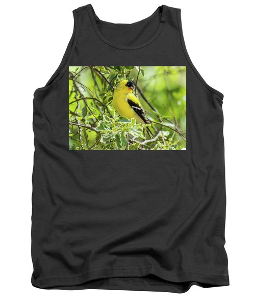 Tank Top featuring the photograph Blending In by Robert L Jackson