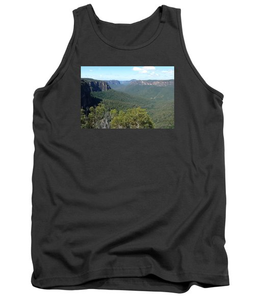 Blue Mountains Tank Top by Carla Parris