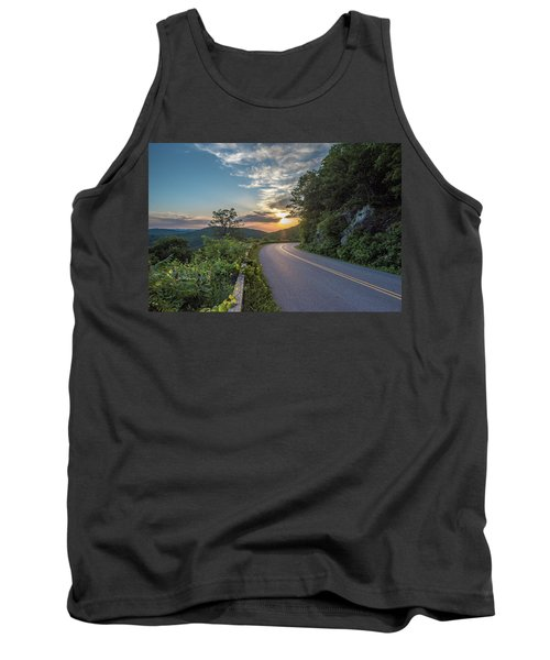 Blue Ridge Parkway Morning Sun Tank Top