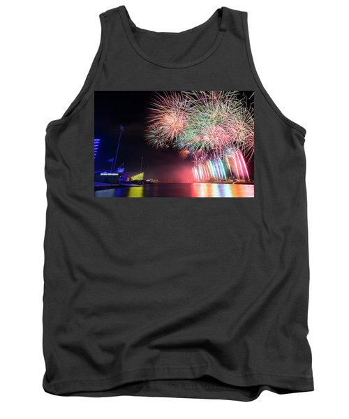 Boathouse Fireworks Tank Top