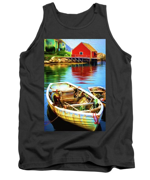 Boats Tank Top by Andre Faubert