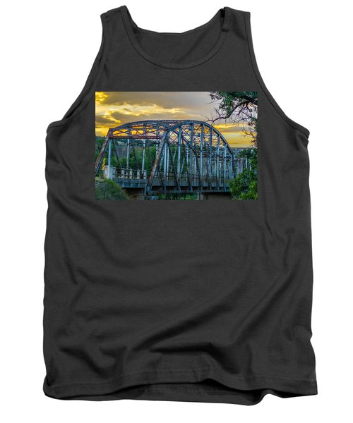 Tank Top featuring the photograph Bridge by Jerry Cahill