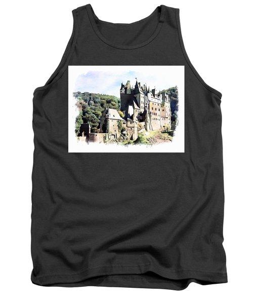 Burg Eltz - Moselle Tank Top by Joseph Hendrix