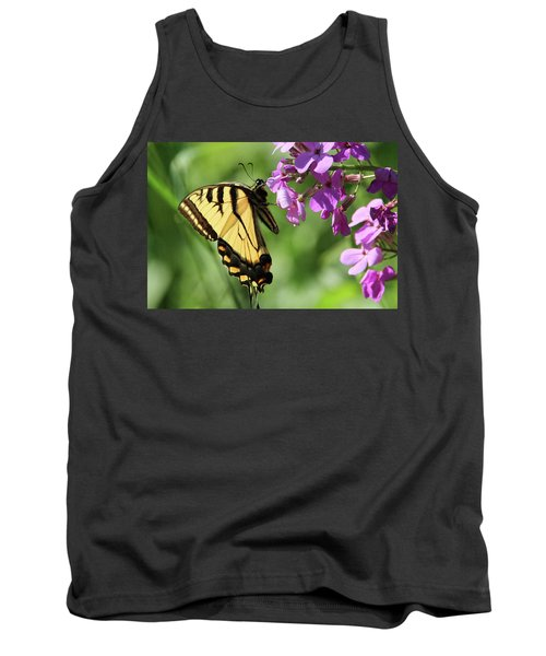 Butterfly Tank Top by David Stasiak