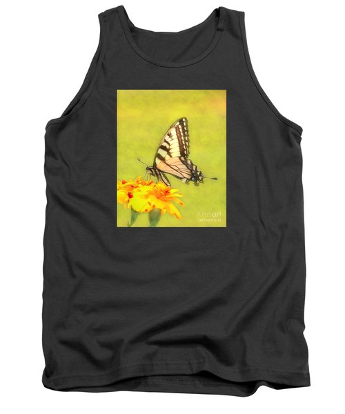 Butterfly Tank Top by Marion Johnson