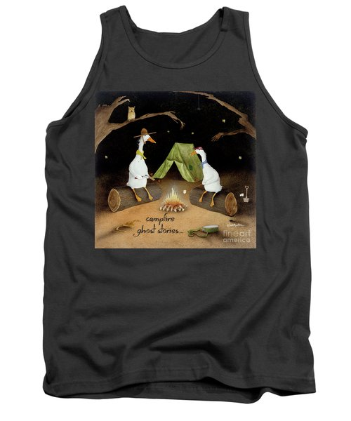 Campfire Ghost Stories Tank Top