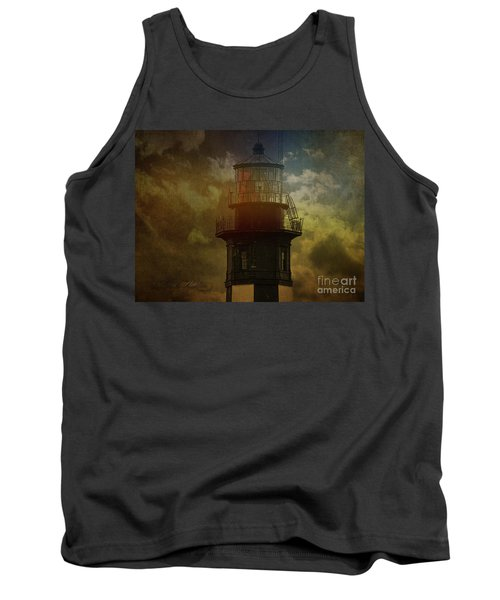 Cape Henry Lighthouse Tank Top by Melissa Messick