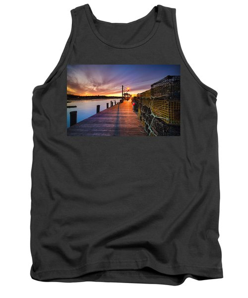 Cape Porpoise Tank Top by Robert Clifford