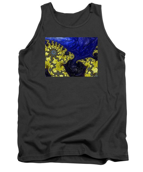 Tank Top featuring the photograph Celestial Storm by Ronda Broatch