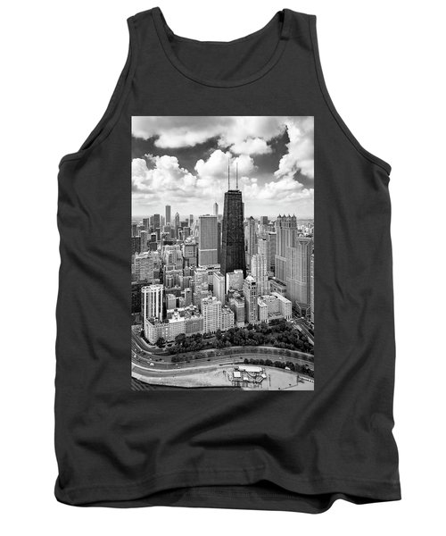 Tank Top featuring the photograph Chicago's Gold Coast by Adam Romanowicz