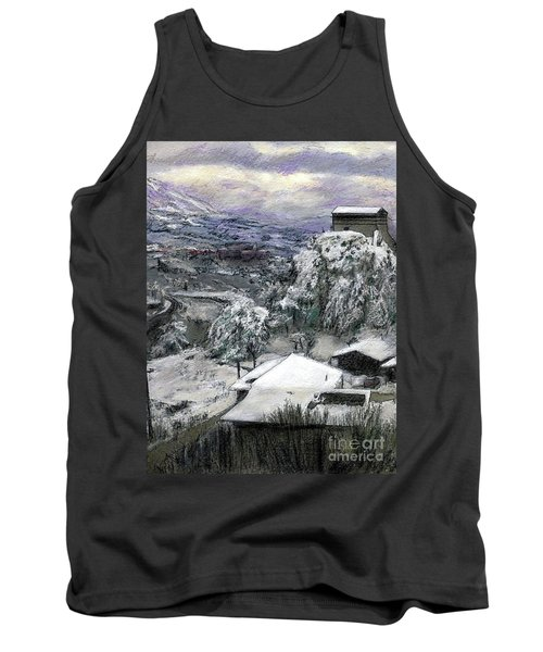 Chiesa San Vito In The Snow Tank Top