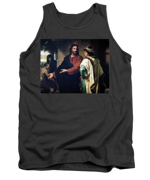 Christ And The Rich Young Ruler Tank Top