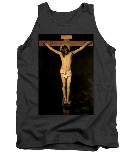 Christ On The Cross Tank Top