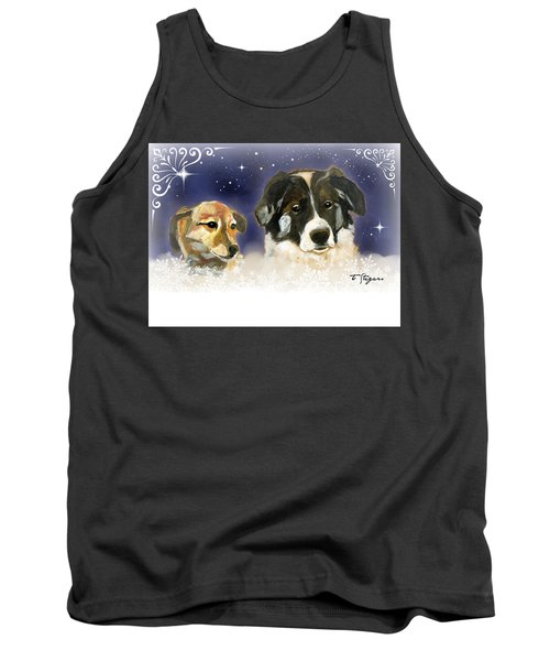 Christmas Doggies Tank Top