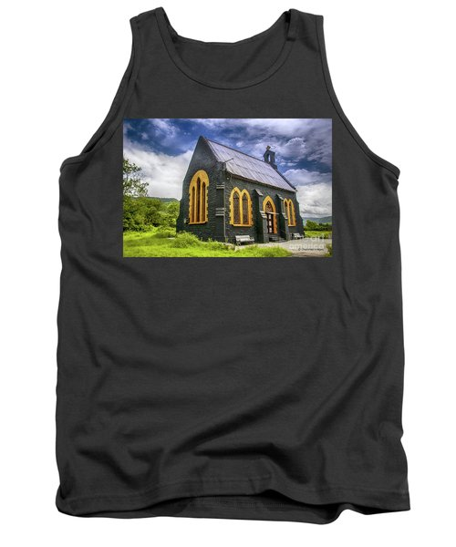 Tank Top featuring the photograph Church by Charuhas Images