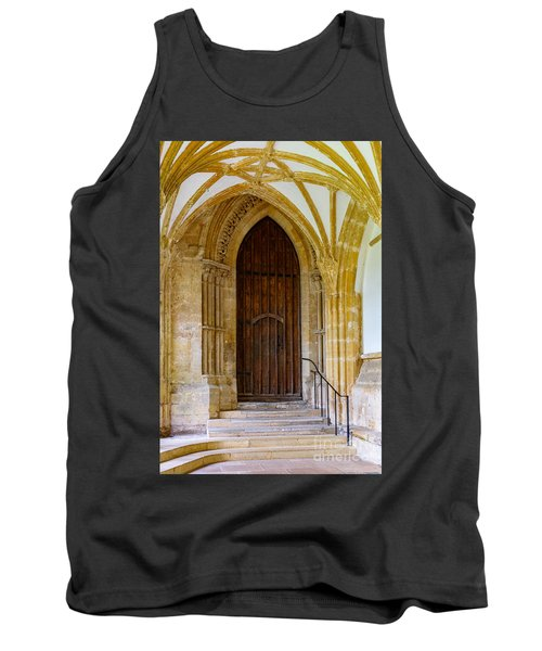 Tank Top featuring the photograph Cloisters, Wells Cathedral by Colin Rayner