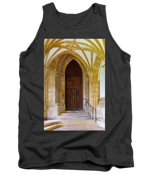 Cloisters, Wells Cathedral Tank Top