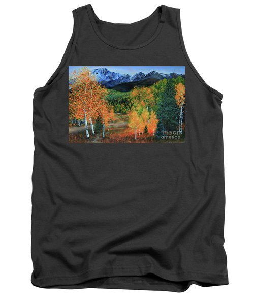 Colorado Aspens Tank Top by Jeanette French
