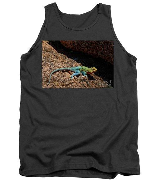 Colorful Lizard II Tank Top