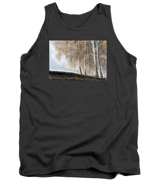 Colorful Misty Forest Tank Top