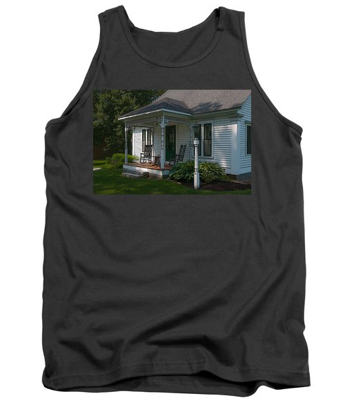 Come Sit On My Porch Tank Top by Brenda Jacobs