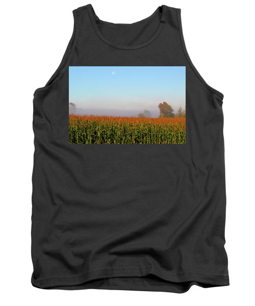 Cornfield Moonset Tank Top