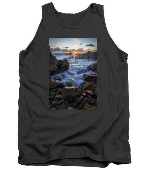 Tank Top featuring the photograph Corona Del Mar by Sean Foster