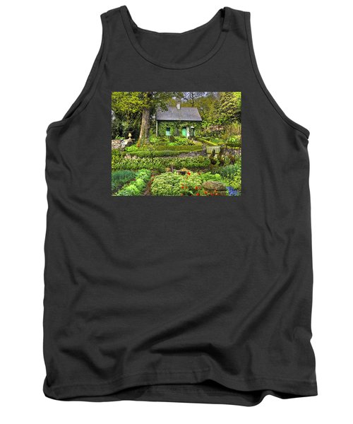 Cottage In The Green Tank Top