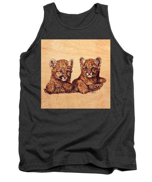 Cougar Cubs Tank Top by Ron Haist