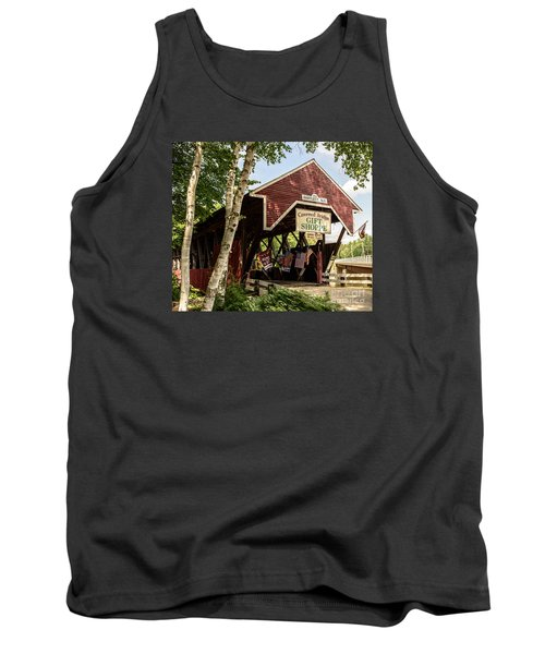 Covered Bridge Gift Shoppe Tank Top by Sherman Perry