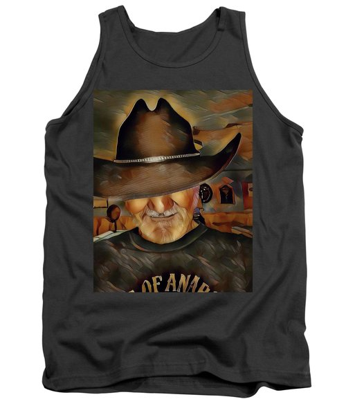 Cowboy Tank Top by Robert Smith