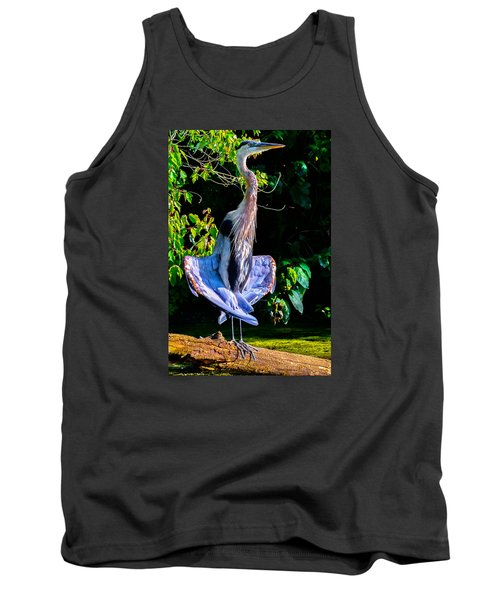 Tank Top featuring the photograph Crazy From The Heat 2 by Brian Stevens